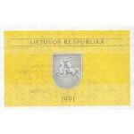 1991 - Lithuania PIC 31a   0.50 Talonas banknote