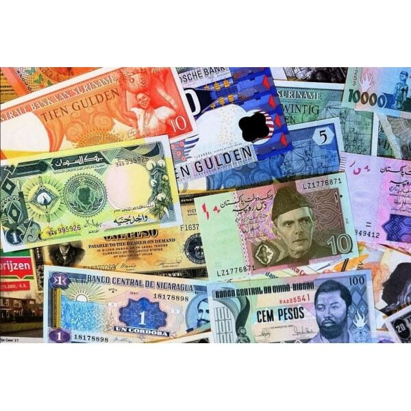 Fracción C de lote de 300 billetes