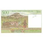 1994 -  Madagascar Pic 75  500 Francs =100 Ariary banknote