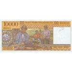 1995 - Madagascar pic 79 billete de 10000 Francos =2000 Ariary