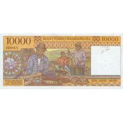1995 -  Madagascar Pic 79  10000 Francs =2000 Ariary banknote