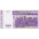 2004 - Madagascar pic 89 billete de 1000 Ariary =5000 Francos