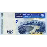 2009 - Madagascar pic 91b billete de 5000 Ariary