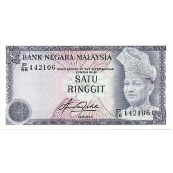 1981 - Malaysia  Pic 13b  1 Ringgit banknote
