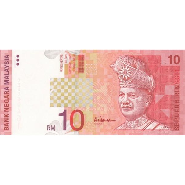1999  Malasia  Pic 42b  billete de 10 Ringgit