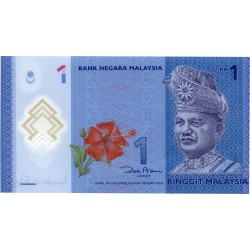 2012 - Malaysia  Pic 51   1 Ringgit banknote