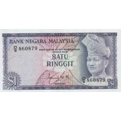 1972 - Malaysia  Pic 7   1 Ringgie banknote
