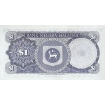 1972 - Malaysia  Pic 7   1 Ringgie banknote