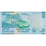 2012 - Malawi pic 58a billete de 50 Kwacha