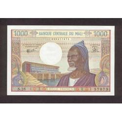 1984- Mali  Pic  13e     1000 Francs  banknote