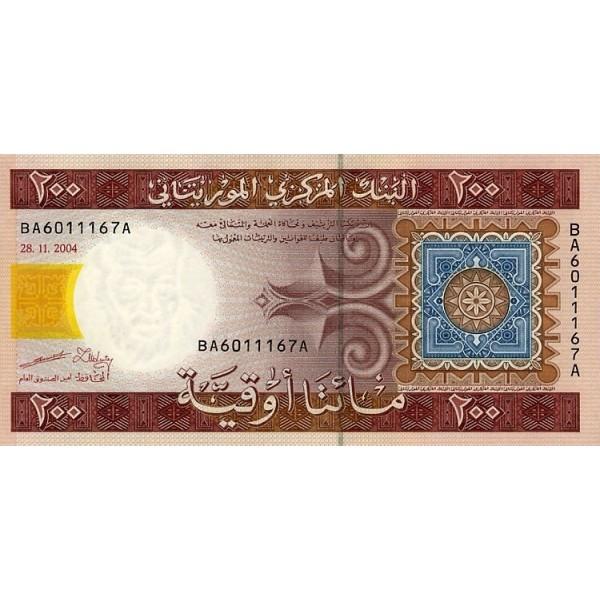 2004 - Mauritania  Pic  11a  500 Ouguiya banknote