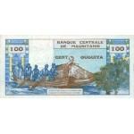 1973 - Mauritania  pic 1s  billete de 100 Ouguiya Especimen