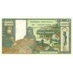 1973 - Mauritania  Pic  3s  1000 Ouguiya banknote Specimen