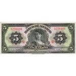 1970 - México P60k billete de 5 Pesos