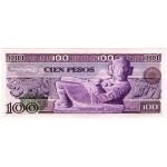 1978 - México P66b billete  100 Pesos EBC