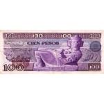 1978 - Mexico P66b 100 Pesos VF banknote