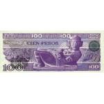 1981 - México P74a billete de 100 Pesos