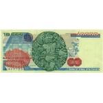 1983 - México P84b billete de 10.000 Pesos