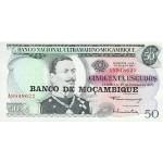 1976 - Mozambique PIC 116  50 Escudos banknote