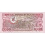 1983 - Mozambique pic 132a billete de 1000 Meticais