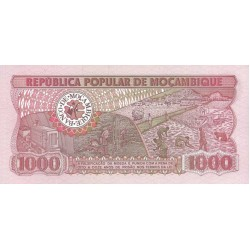 1983 - Mozambique PIC 132a 1000 Meticai banknote