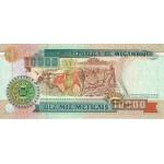 1991 - Mozambique pic 137 billete de 10000 Meticais