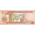 1993- Mozambique PIC 139  100000 Escudos banknote