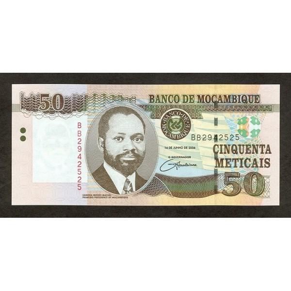 2006 - Mozambique PIC 144 20 Escudos banknote