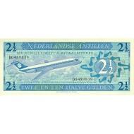 1970 - Netherlands Antilles P21a 2.5 Gulden banknote
