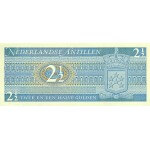 1970 - Antillas Holandesas  P21a  billete de 2,5 Gulden