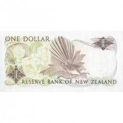 1985/89 - New Zealand P169b 1 Dollar banknote