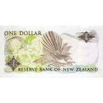 1989/92 - New Zealand P169c 1 Dollar banknote