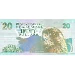 1992 - New Zealand P179b 20 Dollars banknote
