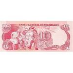 1979 - Nicaragua P134 10 Cordobas banknote