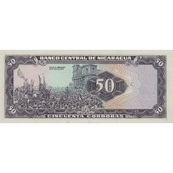 1979 - Nicaragua P136 50 Cordobas banknote