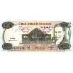 1987 - Nicaragua P149   100,000 en 500 Cordobas banknote