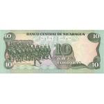 1985 - Nicaragua P151 10 Cordobas banknote