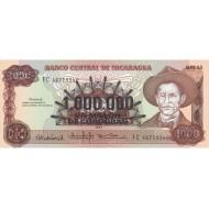 1990 - Nicaragua P164 1,000,000 Cordobas banknote