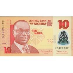 2009 - Nigeria PIC 38b      5 Nairas banknote