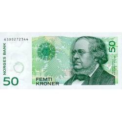2005 -  Norway   Pic 46c            50 kroner banknote