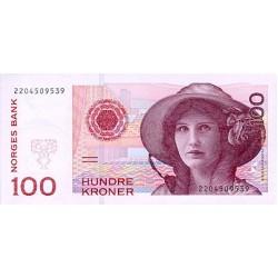 2001/07 -  Norway   Pic 47            100 kroner banknote