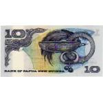 1985 - Papua P7 10 Kina  banknote
