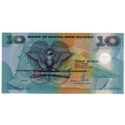 2000 - Papua P26 10 Kina banknote
