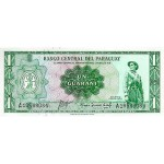1952 - Paraguay P193a 1 Guarani banknote
