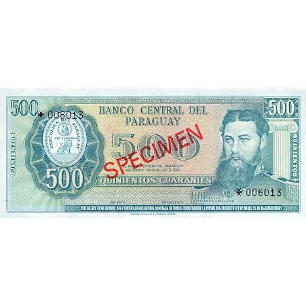 1979 - Paraguay PIC CS1 201b    1.000 Guaranies banknote