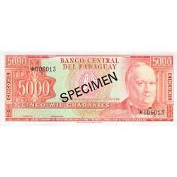 1979 - Paraguay PIC CS1 204b    10.000 Guaranies banknote