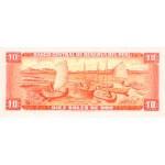 1973 - Perú P100c billete de 10 Soles Oro