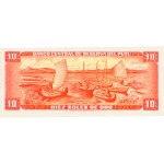 1975 - Perú P106 billete de 10 Soles Oro
