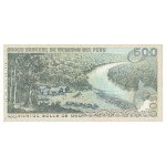 1976 - Peru P115 500 Soles Gold banknote