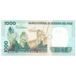 1981 - Peru P122a 1,000 Soles Oro banknote
